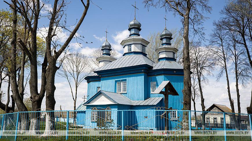 Церковь Святителя Николая Чудотворца в Старой Белице - памятник архитектуры 18-го века