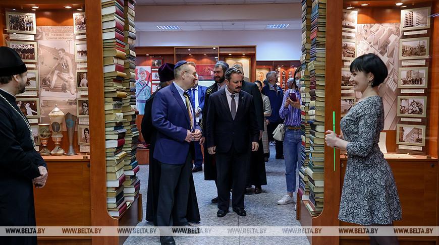 Представители ведущих конфессий Беларуси посетили БГУ