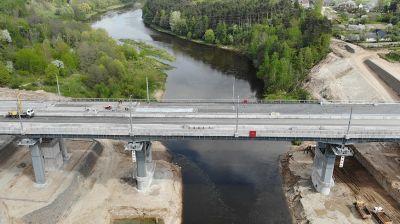 Четвертый автомобильный мост через Неман в Гродно будет открыт в июле