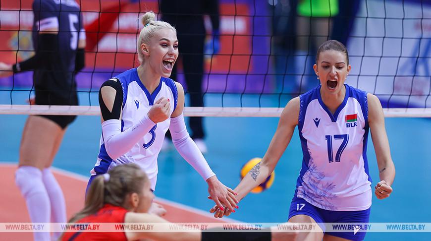 Волейболистки сборной Беларуси победили команду Эстонии и вышли в финальную часть ЧЕ-2021
