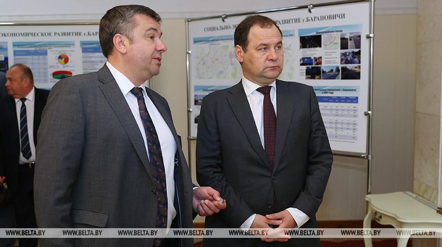 Головченко принял участие в заседании Барановичского горисполкома