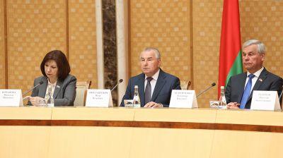 В Минске состоялось очередное заседание Конституционной комиссии