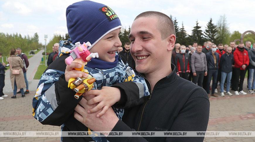 Более 150 призывников Могилевской области направлены на срочную военную службу