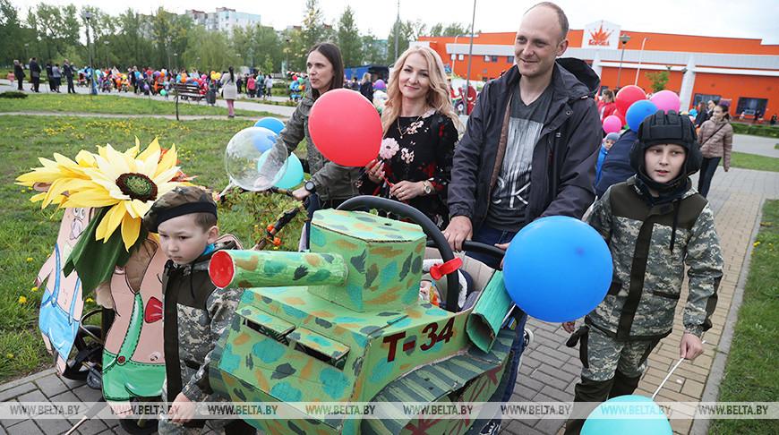Парад детских колясок прошел в Бобруйске