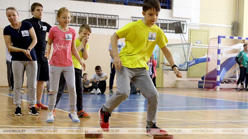 Семейный спортивный праздник прошел в Витебске