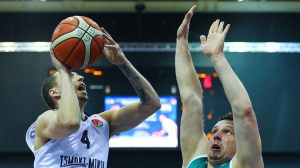 Финал мужского чемпионата Беларуси по баскетболу стартовал в Минске