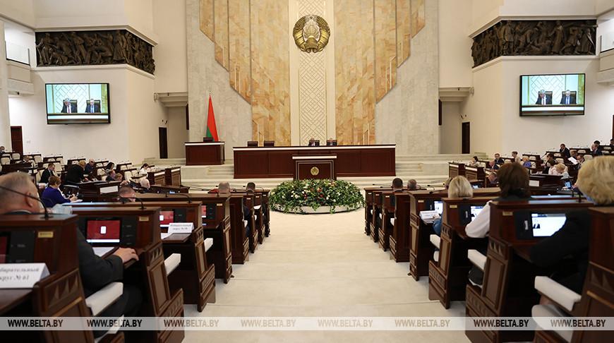 Депутаты проголосовали за обращение палат парламента к Президенту
