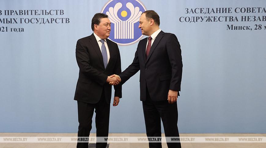 Заседание Совета глав правительств СНГ начинается в Минске