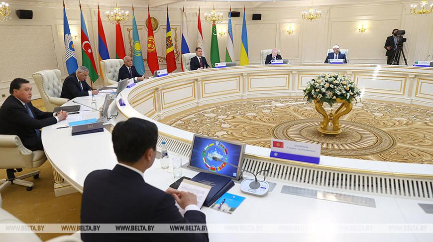 Заседание Совета глав правительств СНГ в узком составе прошло в Минске