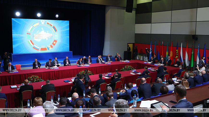 Заседание Совета глав правительств СНГ в расширенном составе прошло в Минске