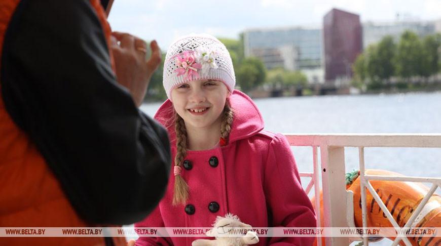 Акция ко дню защиты детей прошла в Минске