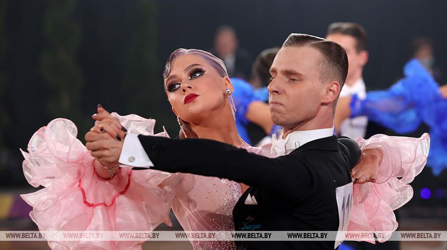 Соревнования чемпионата Беларуси по танцевальному спорту прошли в Могилеве