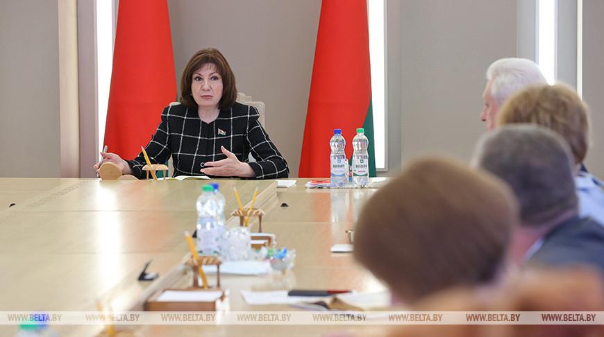 Кочанова встретилась с представителями областных Советов депутатов