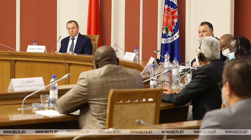 Макей встретился с главами делегаций Белорусско-Африканского экономического форума