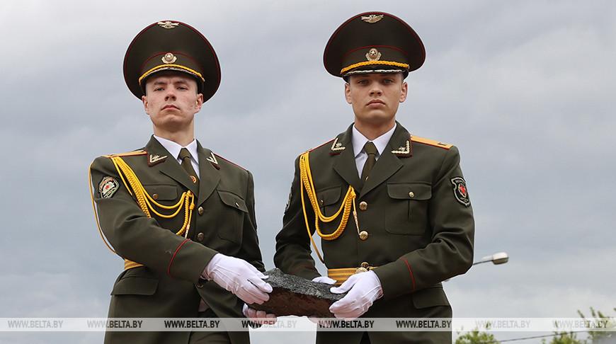 В Гомеле заложили первый камень при строительстве часовни в честь воинов-освободителей