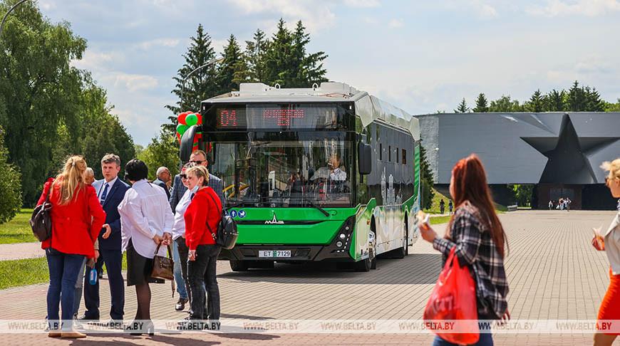 Электробус начнет курсировать по Бресту к июлю