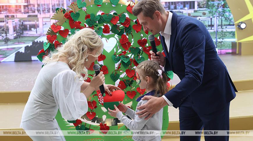 Во Дворце Независимости организовали праздник к Международному дню защиты детей