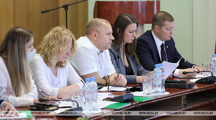 Пленум ЦК БРСМ проходит в Минске