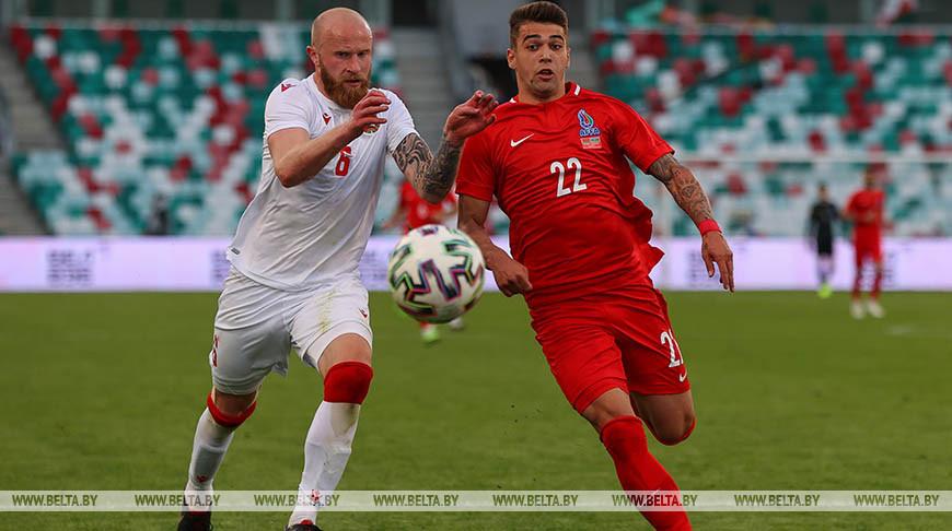 Футболисты сборной Беларуси уступили команде Азербайджана в товарищеском матче