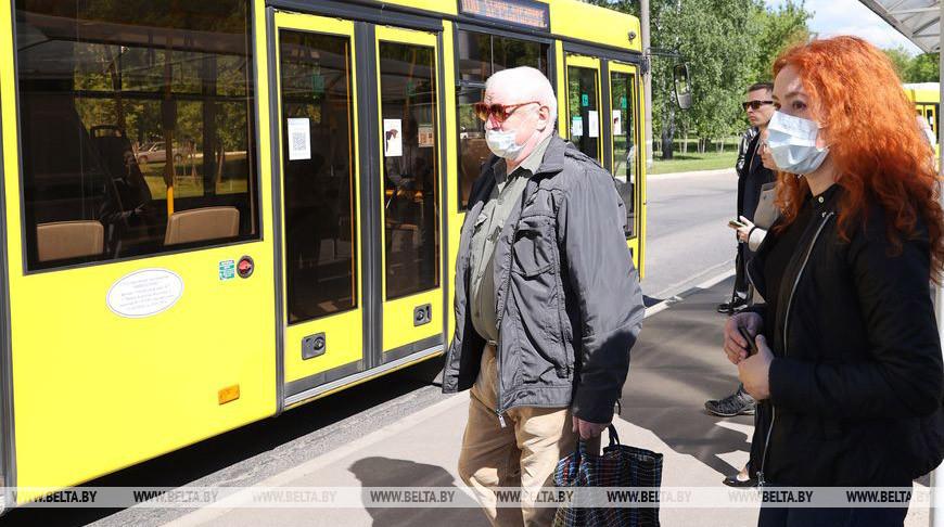 Соблюдение масочного режима в общественном транспорте проверяется во время рейдов в Минске