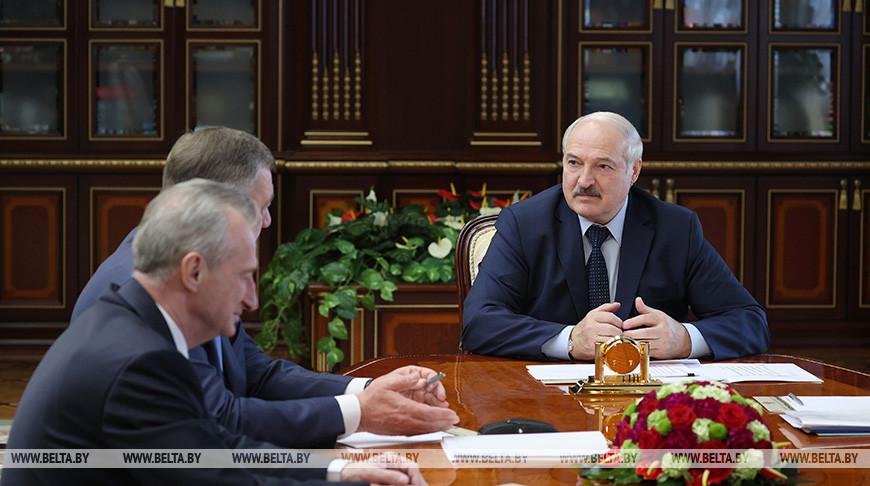 Лукашенко доложили о развитии энергокомплекса Беларуси