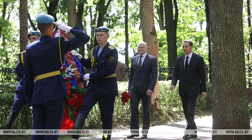 Встреча Нарышкина и Тертеля прошла в Витебске
