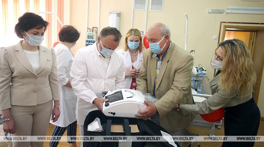 Новый ИВЛ-аппарат передан Дому ребенка в Гродно