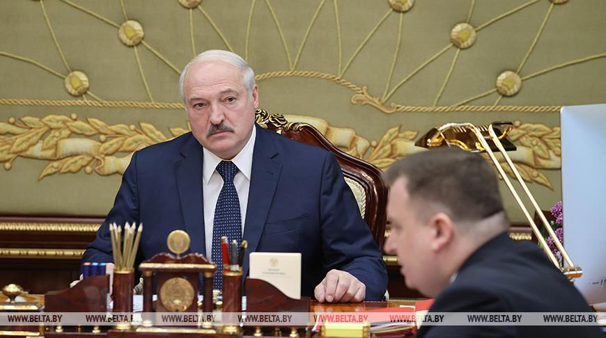 Лукашенко доложили о работе военно-промышленного комплекса