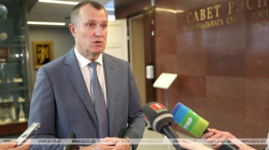 Совместное заседание белорусского и российского организационных комитетов по подготовке VIII Форума регионов Беларуси и России