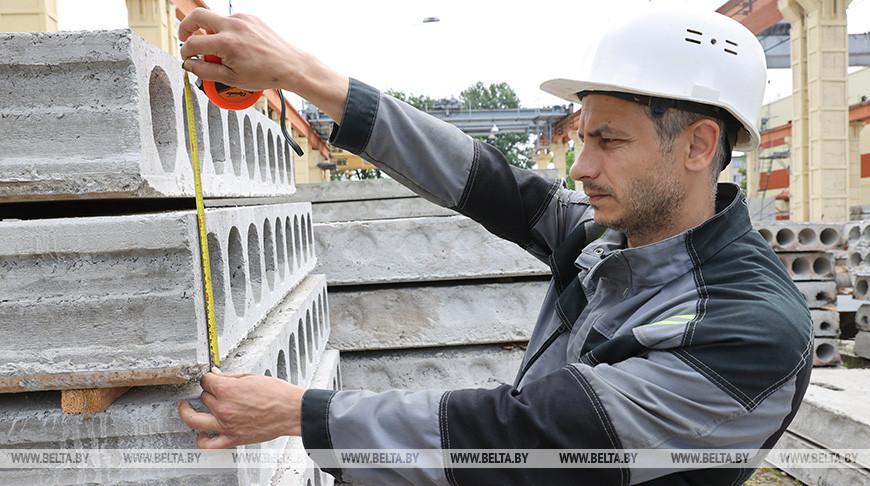 В Витебске приступили к выпуску железобетонных плит перекрытия на экспорт