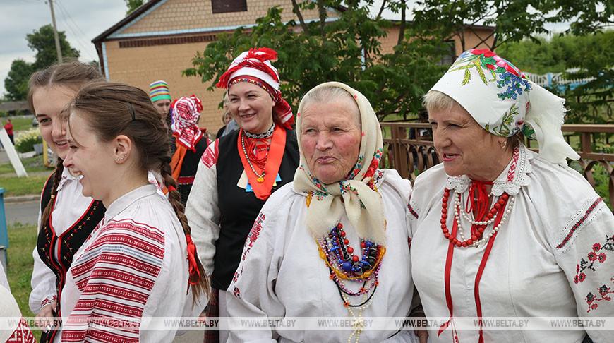 Обряд вождения и похорон Стрелы провели в Ветковском районе