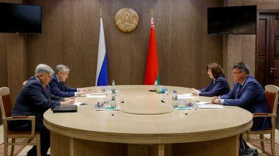 Кочанова встретилась с послом России