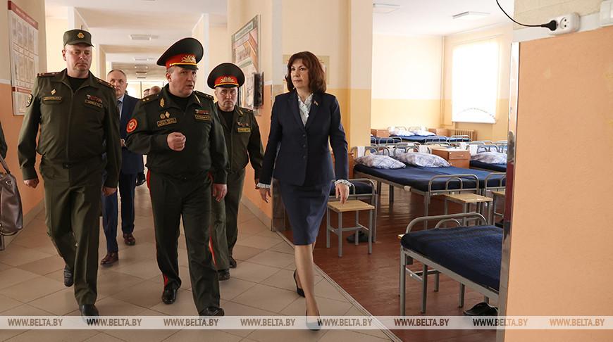 Выездное заседание Президиума Совета Республики прошло на базе 120-й мехбригады