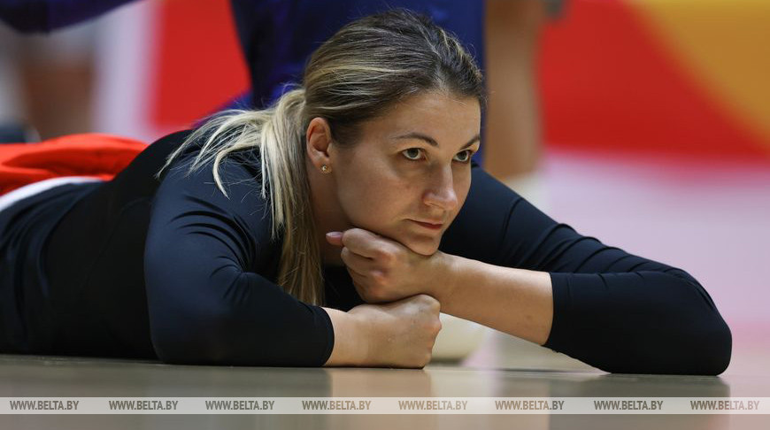 Белорусские баскетболистки провели первую тренировку в Валенсии