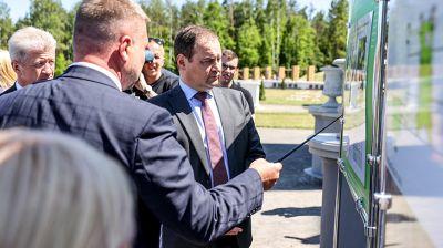 Головченко посетил Коссовский дворец