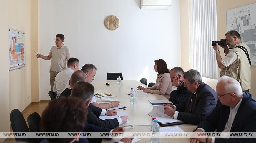 "Кочанова посетила производственные площадки ОАО ""Мотовело"""