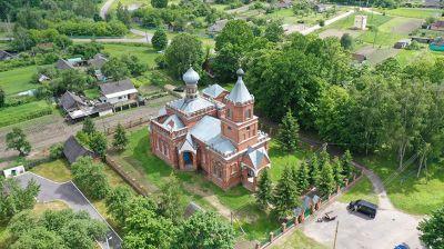 Всехсвятская церковь в Пиревичах - памятник архитектуры начала ХХ века