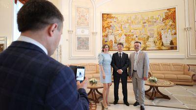Медики в канун профессионального праздника посетили Дворец Независимости
