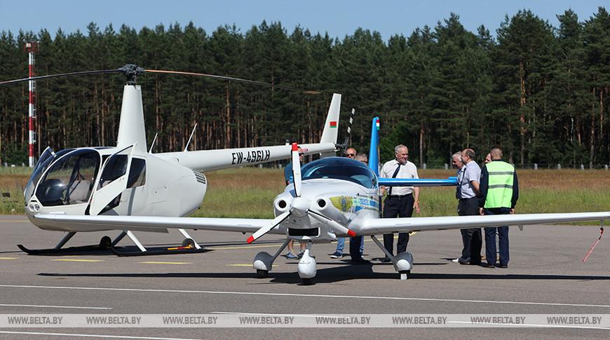 Аэроклуб ДОСААФ представил свой новый самолет Fusion 212