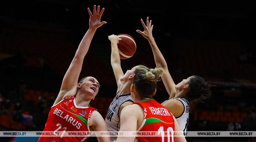 Белорусские баскетболистки проиграли словачкам на чемпионате Европы