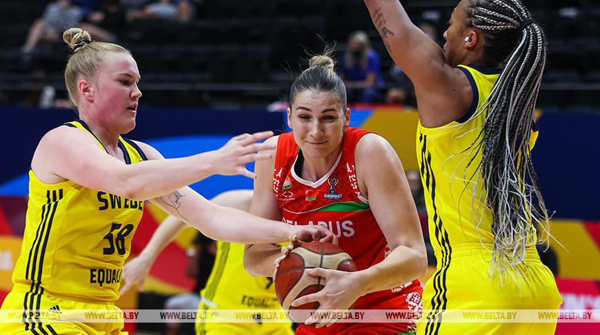 Белорусские баскетболистки вышли в плей-офф чемпионата Европы