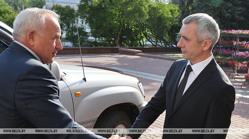 В Витебске представили нового председателя горисполкома