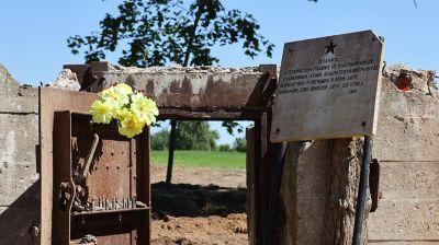 Мемориал на месте ДОТа военных лет создают в Полоцком районе