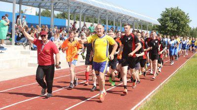 Спортивный комплекс открылся после реконструкции в Белорусской академии авиации