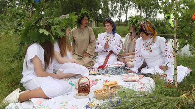 День святой Троицы отпраздновали в Могилевском районе