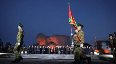 Митинг-реквием прошел ранним утром в Брестской крепости