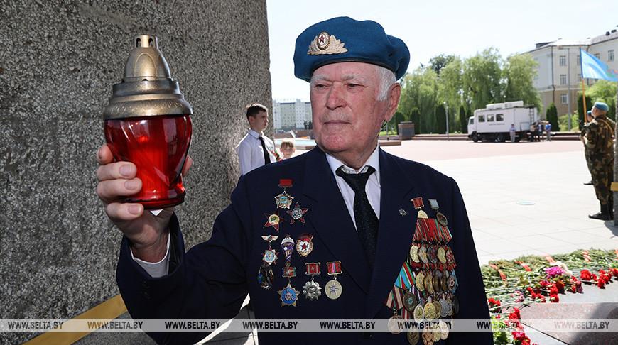 """Более 1,4 тыс. человек поучаствовали в акции """"Пламя памяти"""" в Витебске"""