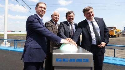 БЕЛАЗ открыл полигон для испытаний дизель-троллейвозов