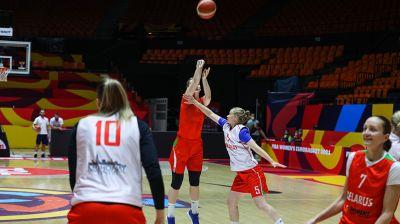 Белорусские баскетболистки готовятся к четвертьфиналу чемпионата Европы
