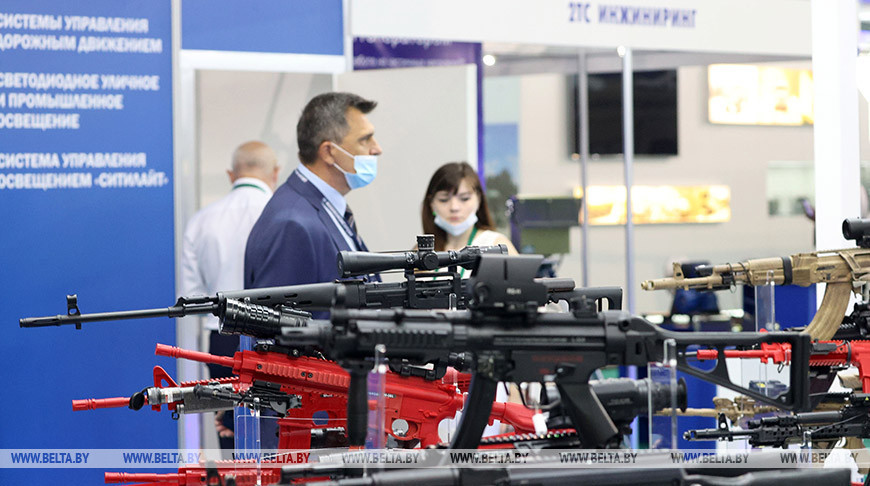 Международная выставка вооружения и военной техники MILEX-2021 открылась в Минске